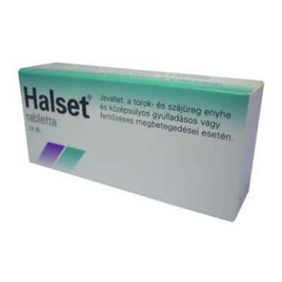 Halset 1,5 mg préselt szopogató tabletta 24 db