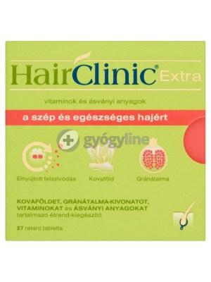 Hairclinic extra retard tabletta 27 db