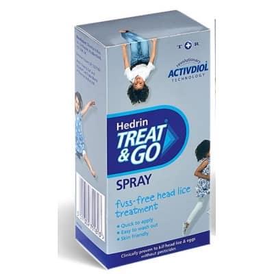 Hedrin treat and go tetűirtó spray 60 ml