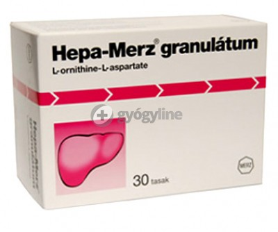 Hepa-Merz granulátum belsőleges oldathoz 30 db