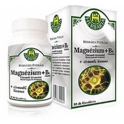 Herbária magnézium+B6 citromfű filmtabletta 30 db