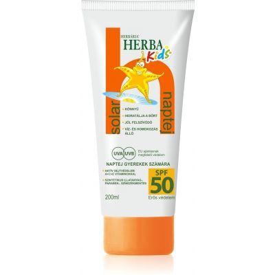 Herbária Herbakids Naptej SPF 50 200 ml