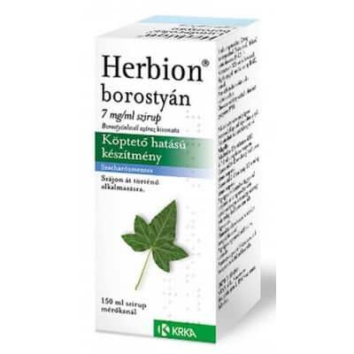 Herbion borostyán száraz kivonata köptető szirup 150 ml