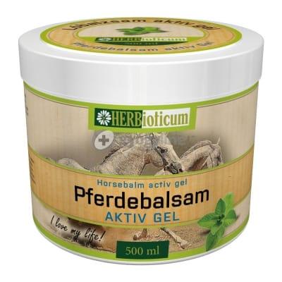 Herbioticum pferdebalzsam, lóbalzsam aktív gél 500 ml