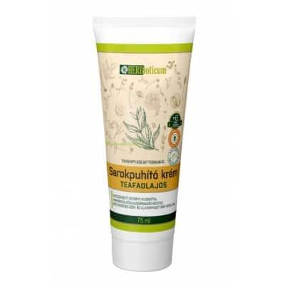 HERBioticum Sarokpuhító krém teafaolajos 75 ml
