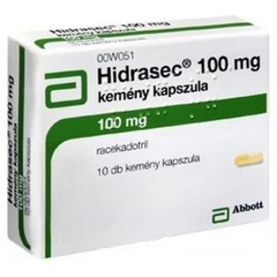Hidrasec 100 mg kemény kapszula hasmenésre 10 db