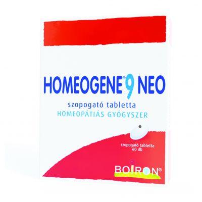 Homeogene 9 Neo szopogató tabletta 60 db
