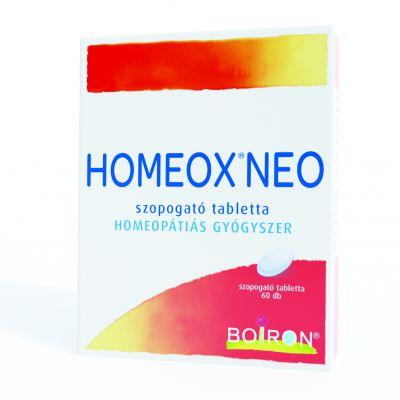 Homeox Neo szopogató tabletta 60 db