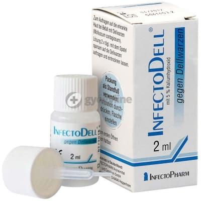 InfectoDell külsőleges oldat ecsetelésre 2 ml
