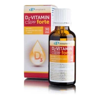 Innopharm D3-vitamin forte csepp 30 ml