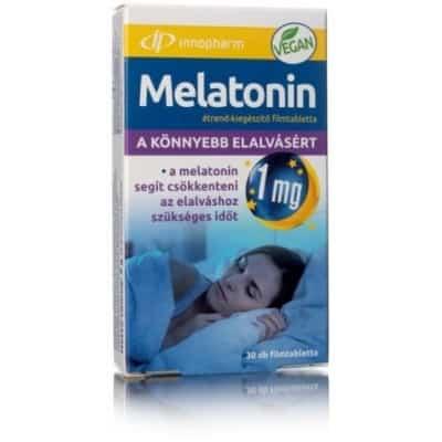 Innopharm Melatonin étrend-kiegészítő filmtabletta 30 db