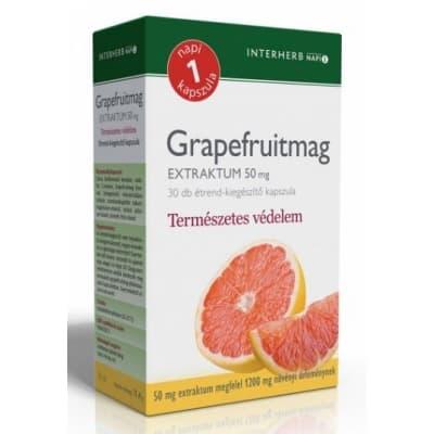Interherb napi 1 grapefruitmag extraktum kapszula 30 db
