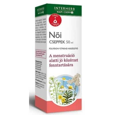 Interherb napi csepp női cseppek 50 ml