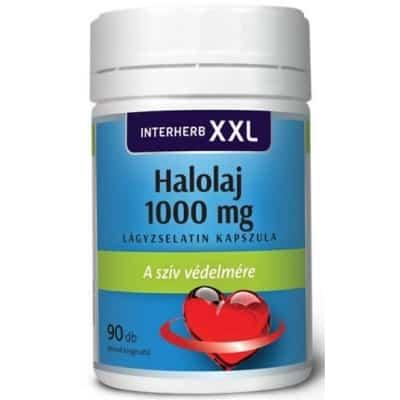 Interherb XXL halolaj lágyzselatin kapszula 90 db
