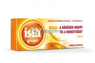 Isla ginger torokpasztilla gyömbér 30 db