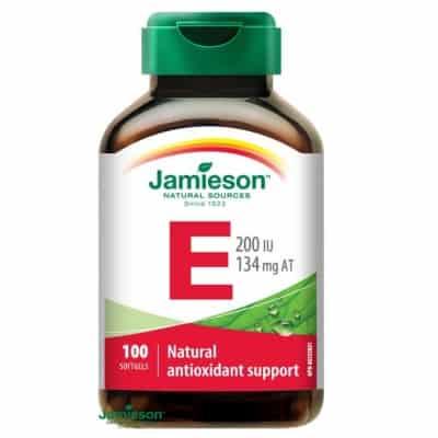 Jamieson E-vitamin 200 IU kapszula 100 db