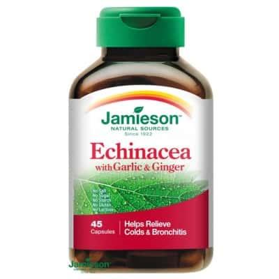 Jamieson echinacea fokhagyma és gyömbér kapszula 45 db