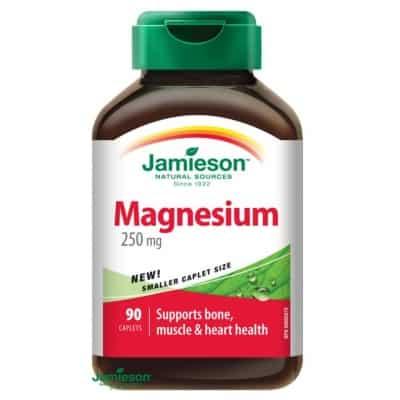 Jamieson magnézium 250 mg tabletta 90 db
