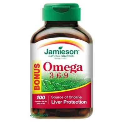 Jamieson Omega 3-6-9 1200 mg kapszula 100 db