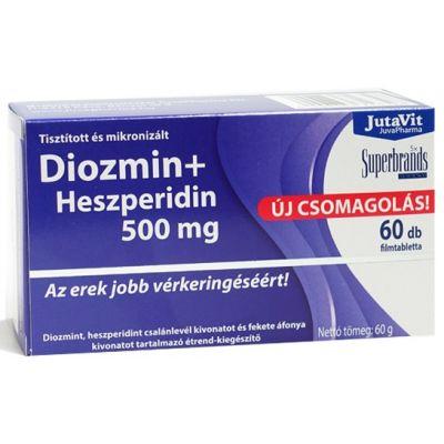 Jutavit Diozmin + Heszperidin 500 mg, 60 db