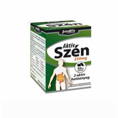 JutaVit Aktív Szén tabletta 250mg 30 db