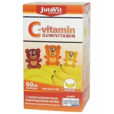 Jutavit C-vitamin Gumivitamin, 60 db