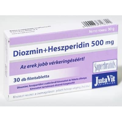 Jutavit diozmin + heszperidin 500 mg 30 db
