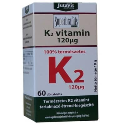 Jutavit K2-vitamin tabletta 60 db