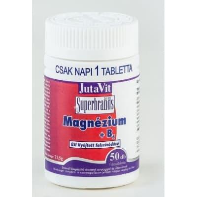 Jutavit magnézium + B6 + D3 nyújtott felszívódású tabletta 50 db