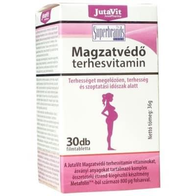 JutaVit Magzatvédő terhesvitamin filmtabletta 30 db