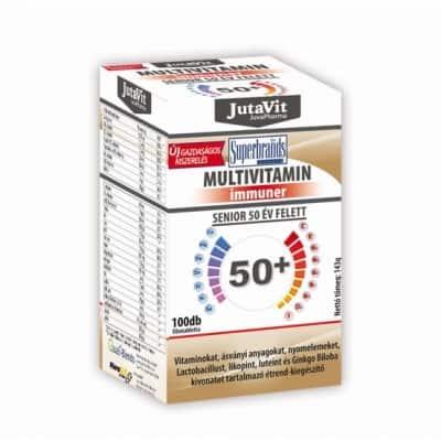 Jutavit multivitamin senior 50+ filmtabletta 100 db