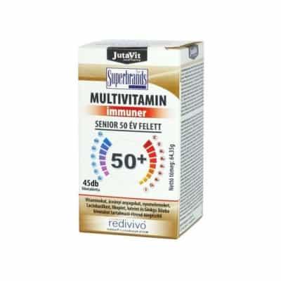 Jutavit multivitamin senior 50+ filmtabletta 45 db