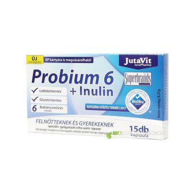 Jutavit probium 6 + inulin kapszula 15 db