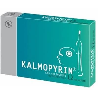 Kalmopyrin 500 mg tabletta 12 db