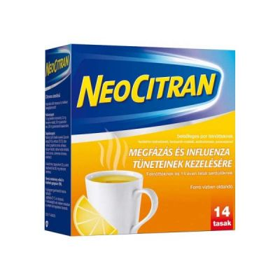 Neo Citran por felnőtteknek megfázásra 14 db