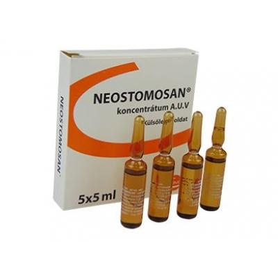 Neostomosan koncentrátum 5x5 ml