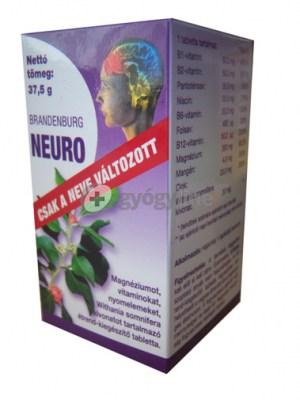 Brandenburg Neuro tabletta (neuroptim), 30 db
