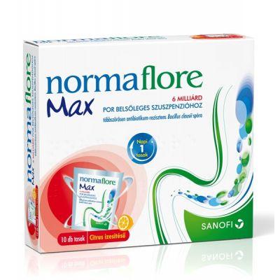 Normaflore max 6 milliárd por belsőleges szuszpenzióhoz 10 db
