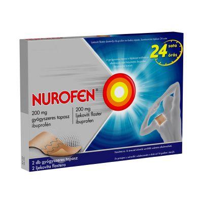 Nurofen 200 mg gyógyszeres fájdalomcsillapító tapasz 2 db