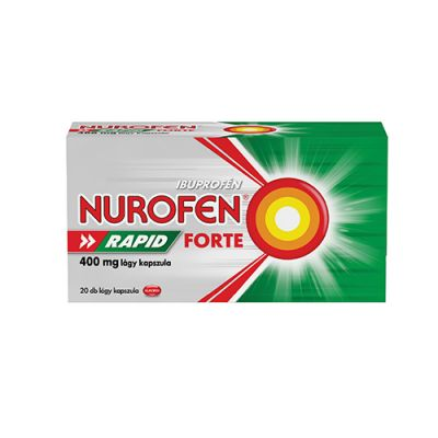 Nurofen Rapid Forte 400 mg lágy kapszula 20 db