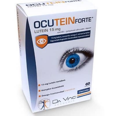 Ocutein forte lutein 15 mg kapszula 60 db