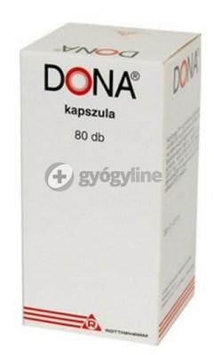 Dona 250 mg kemény kapszula 80 db