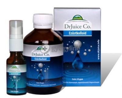 Dr. Juice ezüstkolloid száj- és toroköblítő oldat 200 ml