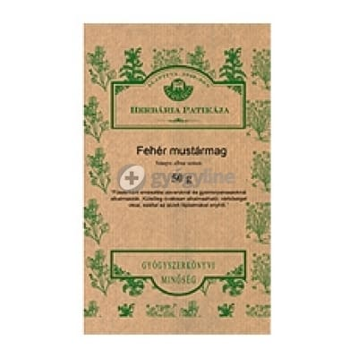 Herbária fehér mustármag tea 250 g