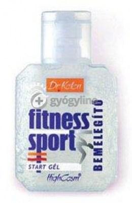 Dr. Kelen sport start sósborszesz gél 150 ml