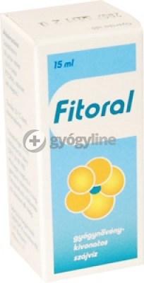 Fitoral gyógynövényes szájvíz 15 ml
