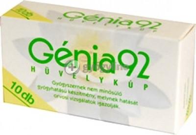 Génia 92 hüvelykúp 10 db