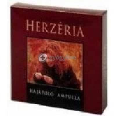 Herzeria hajápoló ampulla 5 x 9 ml