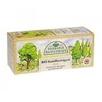 Herbária kamillavirág tea filteres 25 db