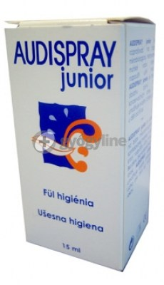 Audispray junior fülspray 25 ml